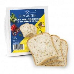 Хлеб Bezgluten крупнозерновой с семенами чиа 200г