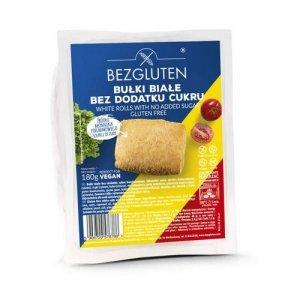 Булочки Bezgluten белые DIA 180г