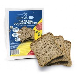 Хлеб Bezgluten DIA 350г,  Bezgluten, Диабетические