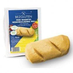 Мини-багеты Bezgluten для выпечки PKU 180г,  Bezgluten, Хлебобулочные изделия
