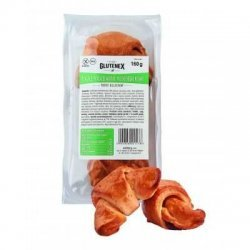 Рогалики Glutenex с фруктовым повидлом PKU 160г,  Glutenex, Хлебобулочные изделия