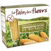 Хлебцы органические Le Pain des Fleurs кукурузные 150г