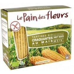 Хлебцы органические Le Pain des Fleurs кукурузные 150г,  Le Pain des Fleurs, Хлебцы