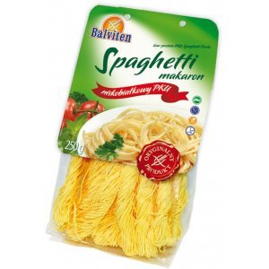 Макарони Balviten спагеті PKU 250г