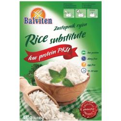 Заменитель риса Balviten PKU 400г,  Balviten, Каши и крупы