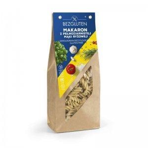 Макарони Bezgluten з цільнозернового рисового борошна 250г
