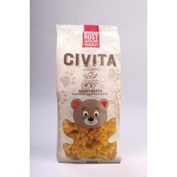 Макароны Civita мишки с большим содержанием клетчатки 450г,  Civita, Макароны