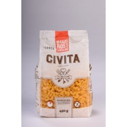 Макароны Civita рожки с большим содержанием клетчатки 450г,  Civita, Макароны