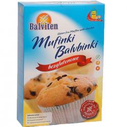 Смесь Balviten для выпечки кексов с кусочками шоколада 280г,  Balviten, Смеси