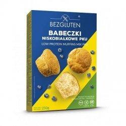Смесь Bezgluten для выпечки кексов PKU 250г,  Bezgluten, Мука и смеси
