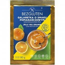Желе Bezgluten апельсиновое PKU 80г,  Bezgluten, Желе, кисели, пудинги