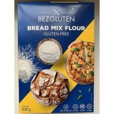 Суміш Bezgluten для випічки хліба та піци 500г