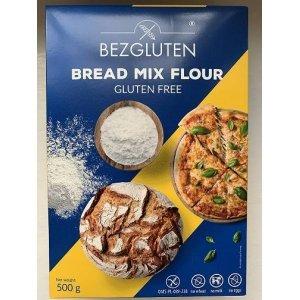 Смесь Bezgluten для выпечки хлеба и пиццы 500г