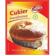 Сахар Celiko ванильный 32г