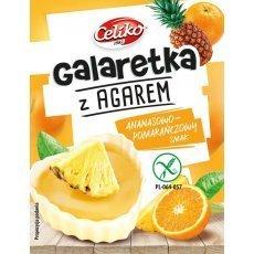 Желе Сeliko со вкусом ананаса и апельсина из агара 45г