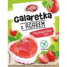 Желе Сeliko со вкусом клубники из агара 45г