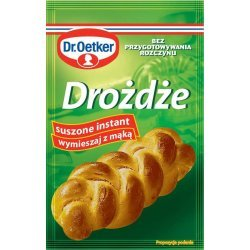 Дрожжи Dr. Oetker сухие 7г,  Bezgluten, [category_name]