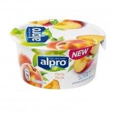Йогурт соевый Alpro с персиком 150г
