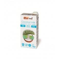 Молоко органічне Ekomil кокосове з кальцієм 1л