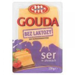 Сыр Mlekovita гавда без лактозы 150г,  Mlekovita, Безлактозные