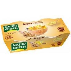 Йогурт органический Natur Green овсяный с ванилью 2х125г
