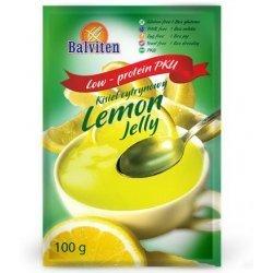 Кисель Balviten лимонный PKU 100г,  Balviten, Желе, кисели, пудинги
