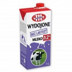 Молоко Mlekovita без лактозы 3,2% 1л,  Mlekovita, Безлактозные