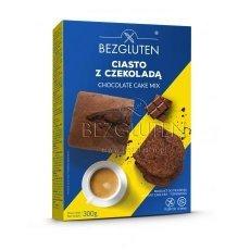 Смесь Bezgluten для выпечки шоколадного торта, кексов 300г
