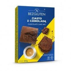 Смесь Bezgluten для выпечки шоколадного торта, кексов 300г,  Bezgluten, Смеси