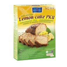 Суміш Bezgluten для випічки лимонного торту, кексів PKU 300г