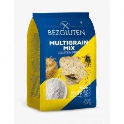Смесь Bezgluten мультизерновая 500г,  Bezgluten, Мука и смеси для выпечки