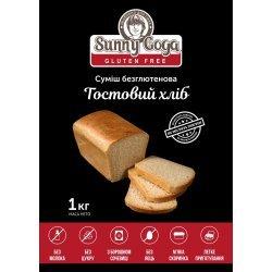 Смесь Sunny Goga для выпечки тостового хлеба 1кг,  Sunny Goga, Диабетические