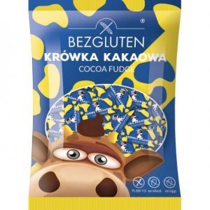 Конфеты Bezgluten Коровка со вкусом какао 200г