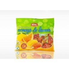 Леденцы Bulik цитрусовые с начинкой и витамином С 100г