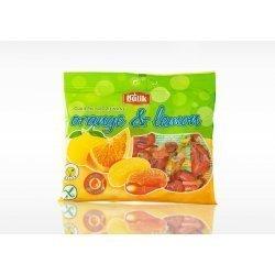 Леденцы Bulik цитрусовые с начинкой и витамином С 100г,  Bulik, Конфеты