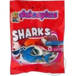 Конфеты жевательные Dulceplus акулы 100г,  Dulceplus, Кондитерские изделия