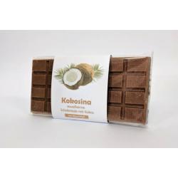 Шоколад Huber с кокосовой стружкой PKU 80г,  Huber, Кондитерские изделия