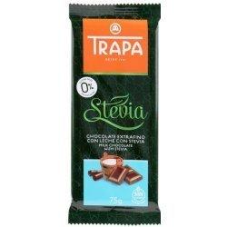 Шоколад Trapa молочный DIA 75г,  Trapa, Кондитерские изделия