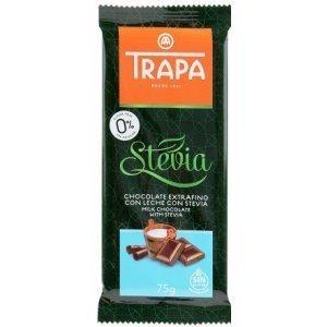 Шоколад Trapa молочный DIA 75г