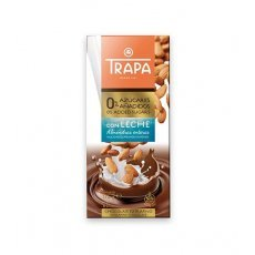 Шоколад Trapa молочний з мигдалем DIA 175г