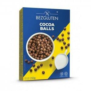Сніданок Bezgluten кульки зі смаком какао 250г