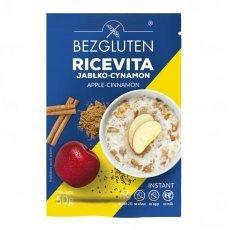Каша Bezgluten рисова зі смаком яблука та кориці 50г