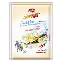 Каша Celiko молочно-кукурузная со вкусом ванили 50г,  Celiko, Каши и крупы