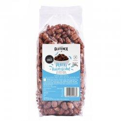 Хлопья Glutenex кукурузные в шоколаде DIA 200г,  Glutenex, Хлопья