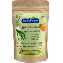 Гранола Healthy Tradition со спирулиной и апельсином 160г,  Healthy Tradition, Кондитерские изделия