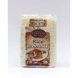 Рис World`s Rice басмати 500г,  World`s Rice, Каши и крупы