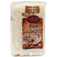 Рис World`s Rice жасмин 500г