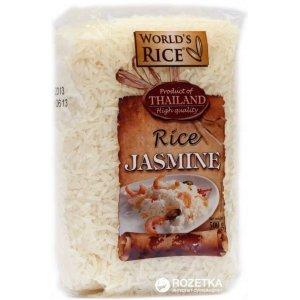 Рис World`s Rice жасмин 500г