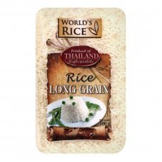 Рис World`s Rice длиннозернистый Таиланд 500г