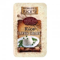 Рис World`s Rice длиннозернистый Таиланд 500г,  World`s Rice, Каши и крупы